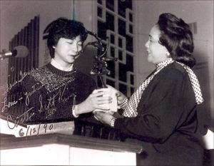 Coretta Scott King with China Peace