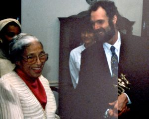 Rosa Parks with Tim